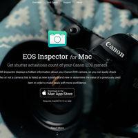 EOS Inspector, la aplicación para Mac que permite saber el número de disparos de nuestra cámara Canon se ha renovado