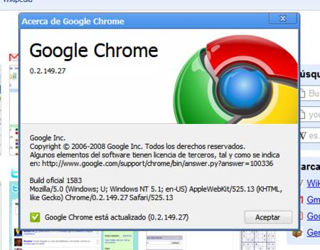 Las primeras extensiones para Google Chrome