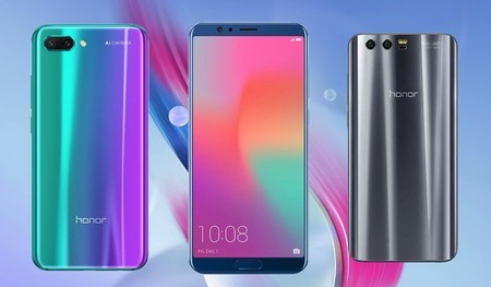Honor 10 vs Honor View 10 y Honor 9: esto es todo lo que ha cambiado