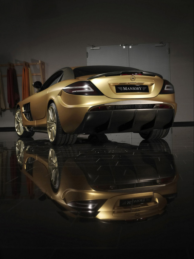 Foto de Mansory Mercedes-Benz SLR McLaren Renovatio (3/12)