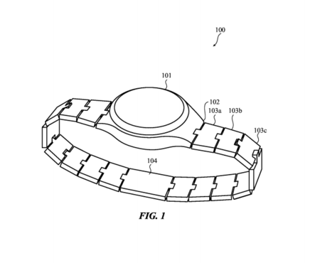 Esta patente de Apple pronostica un futuro modular para la correa de eslabones del Apple Watch