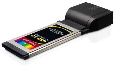 Adaptador Trascend ExpressCard a USB 3.0 back