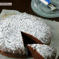 Pastel de chocolate y avellana sin gluten. Receta para el #DíadelCelíaco