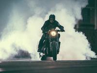 """Yamaha V-Max """"Infrared"""" by JvB-Moto"""