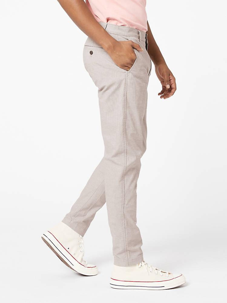 Pantalones chinos grises