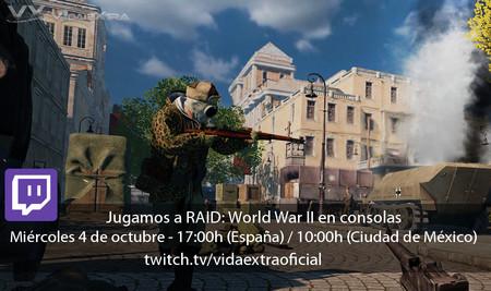 Jugamos en directo a RAID: World War II en consolas a las 17:00h (las 10:00h en Ciudad de México)
