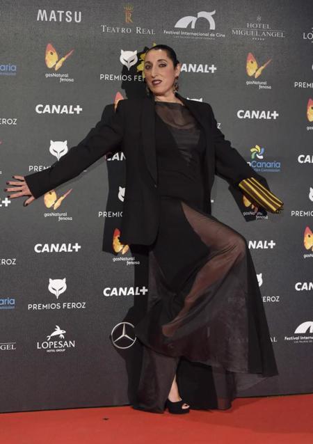 Rossy de Palma en Premios Feroz 2015