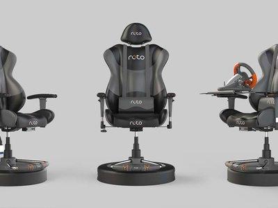 Roto VR, la silla interactiva para la realidad virtual