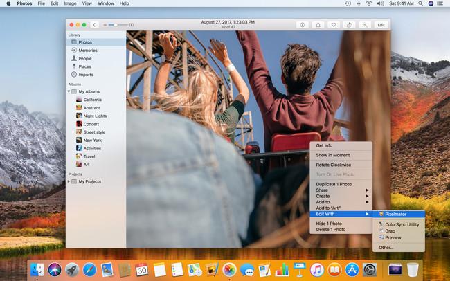 Pixelmator 3 7 Edit With Pixelmator In Photos