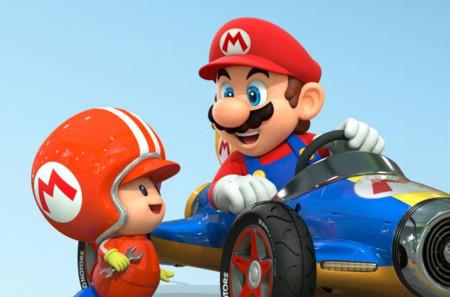 Padre crea habitación temática de Mario Kart 8 a su hijo