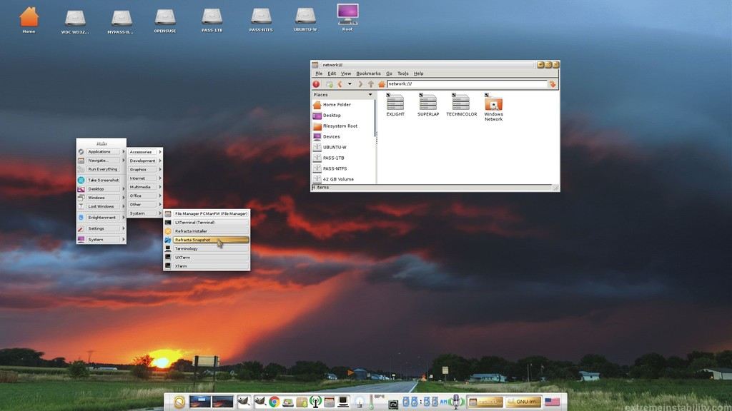 Exlight Lets You Create Your Own Ubuntu With Enlightenment 0 20(veinte) And Linux® 4(cuatro) 9(nueve) 511720 5