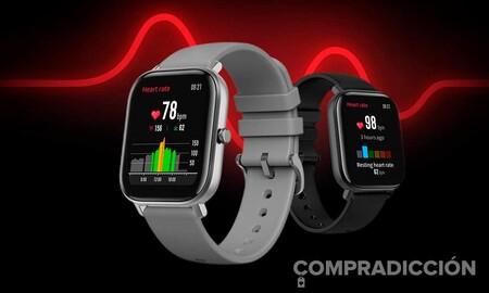 Comprar un reloj con una enorme autonomía sale muy barato si eliges el Amazfit GTS: Amazon te lo deja en 89,90 euros