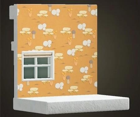 Animal Crossing New Horizons Set Champinon Pared