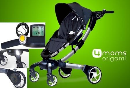 4Moms Origami, carrito tecnológico para bebés