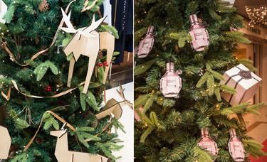 Las firmas dejan volar su imaginación en una exposición de árboles de Navidad en El Corte Inglés