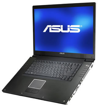Portátil Asus W2W con pantalla FullHD