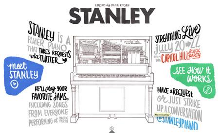 Stanley, la primera pianola interactiva
