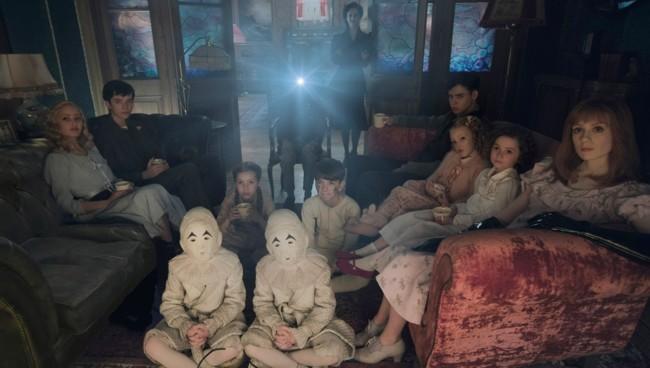 Fotograma de la nueva película de Tim Burton