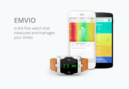 Emvio es el reloj conectado que tiene como objetivo avisarte de lo mucho que estás estresado