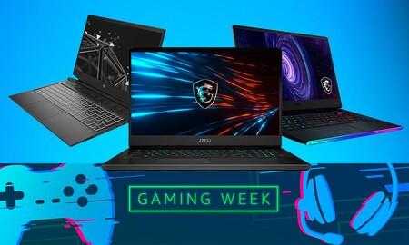 Estos 11 portátiles de MSI y HP te salen más baratos en la Gaming Week de Amazon