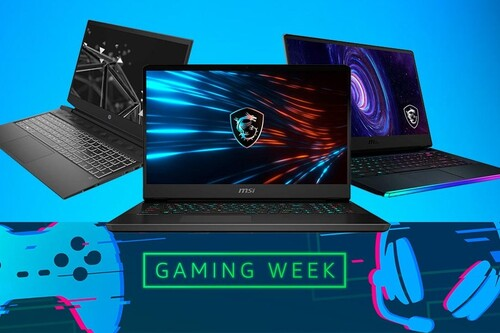 Estos 11 portátiles de MSI y HP te salen más baratos en la Gaming Week de Amazon