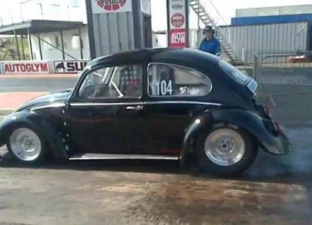 VW Escarabajo eléctrico, más rápido que el Bugatti Veyron
