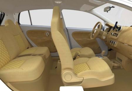Interior del V-Vehicle