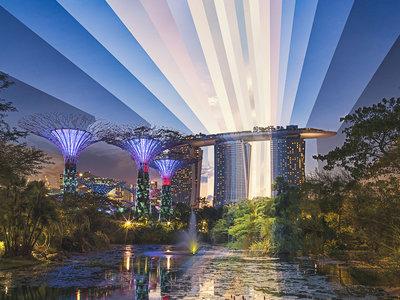 'Time Paintings': las fantásticas fotografías donde convergen varios momentos del día en un mismo lugar