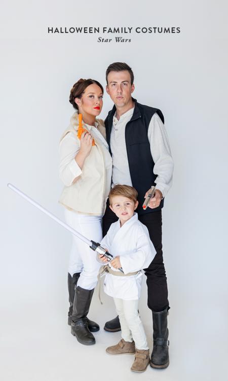 Star Wars disfraz familia