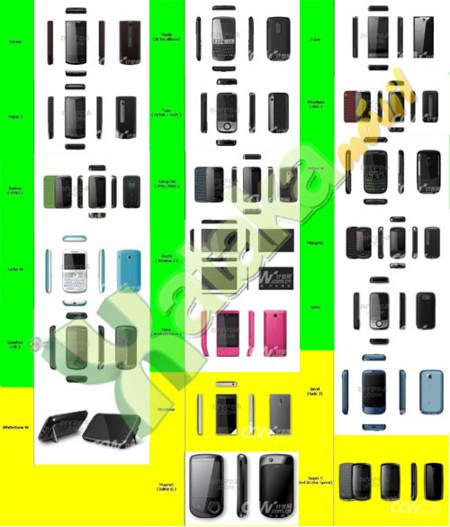 Desvelados los móviles de HTC para 2009