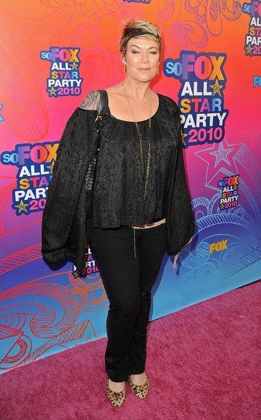 Look fiesta veraniega de Fox 2010 TCA. Mia Michaels
