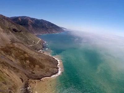 La Pacific Coast Highway, sepultada por un millón de toneladas de tierra y rocas en Big Sur
