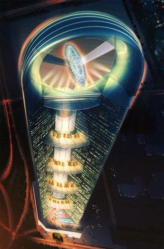 Anara Tower: espectacular proyecto de edificio en Dubai, UAE