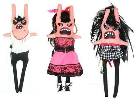 Estos rockeros son unos monstruos