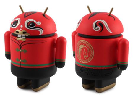 Android Mini Año Nuevo Chino del Caballo