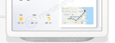 Google Home Hub, se filtra la pantalla inteligente que Google presentará en octubre