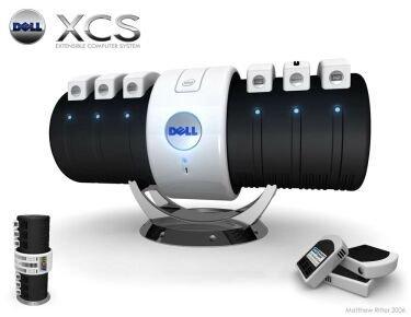 Dell XCS, diseño de un ordenador modular