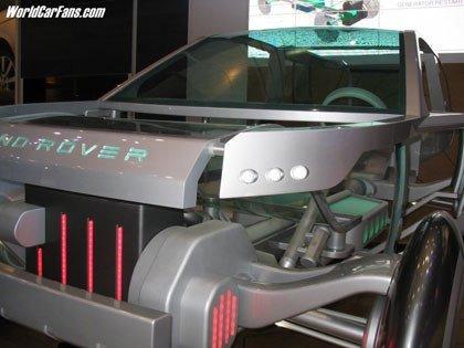 Presentación Land Rover Land_e Concept en el salón de Ginebra