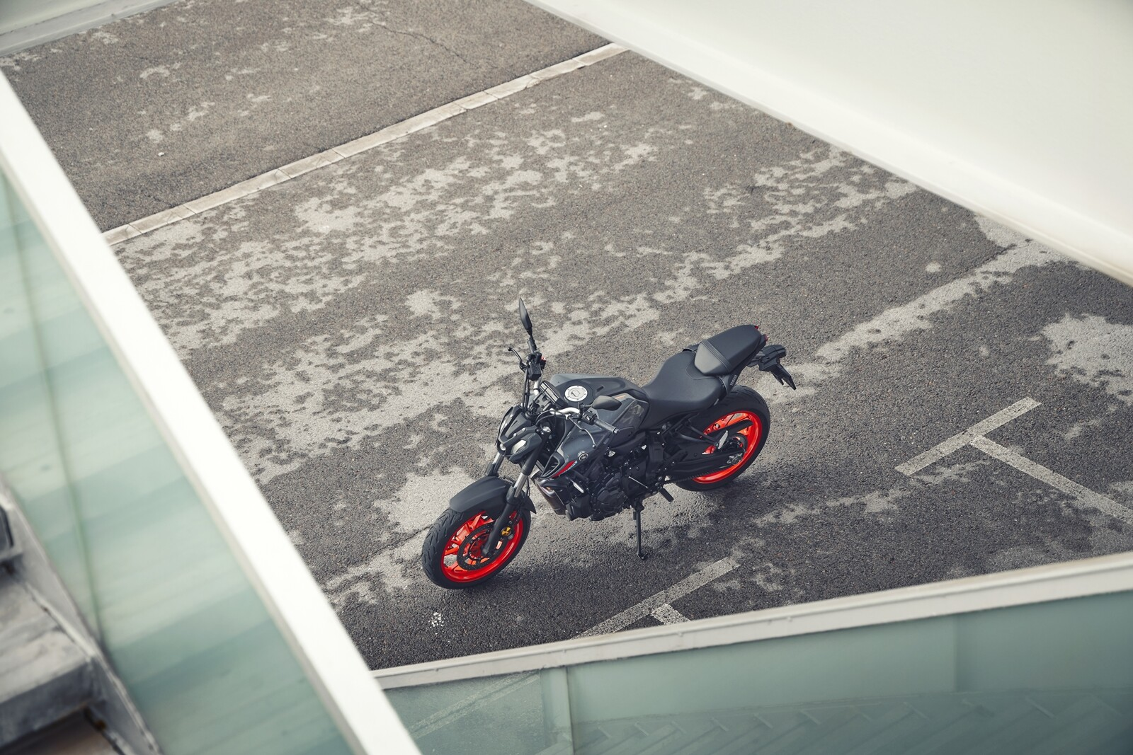 Foto de Yamaha MT-07 2021, prueba (33/75)