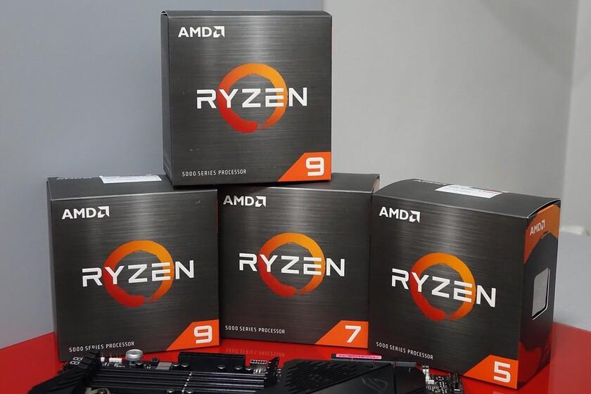 AMD Ryzen 9 5900 y Ryzen 7 5800: la arquitectura Zen 3 llega a los ordenadores premontados