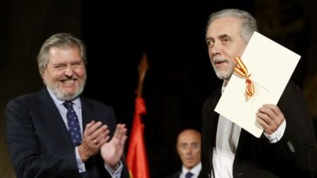 "Fernando Trueba recoge el Premio Nacional de Cine: ""Nunca me he sentido español"""