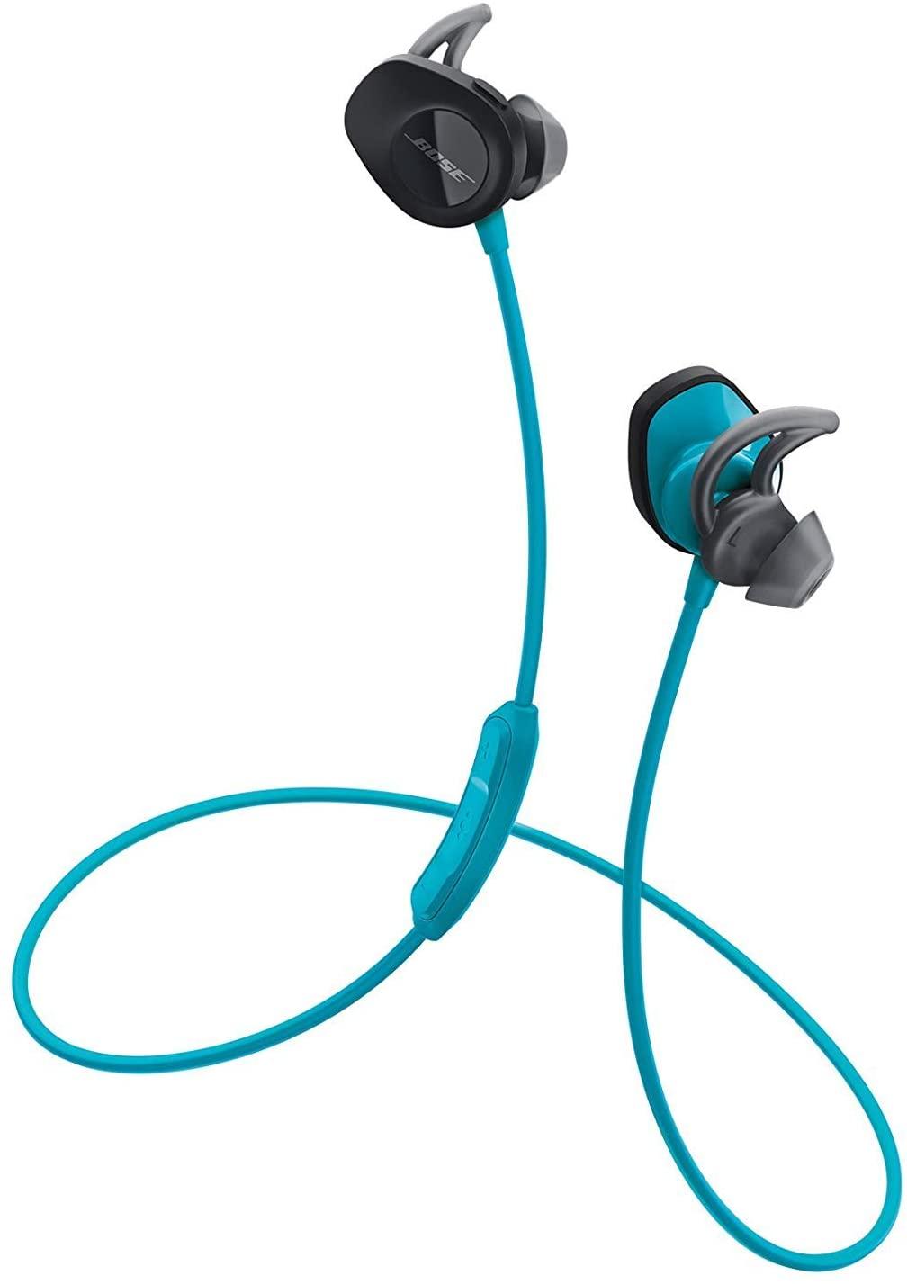 Bose SoundSport Wireless, audífonos inalámbricos resistentes al agua - Color azul
