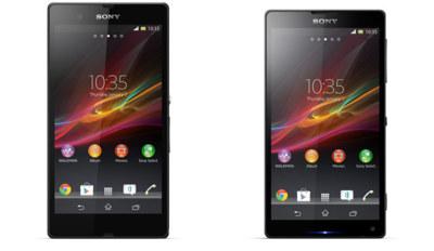 Sony Xperia Z (Yuga) y Xperia ZL (Odin) aparecen en imágenes oficiales