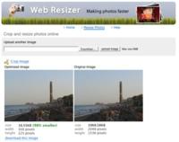 Web Resizer, optimizando nuestras imágenes para su publicación en la web