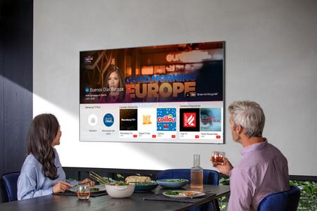 Samsung amplía su servicio de televisión gratuita TV Plus con 5 nuevos canales sumando un total de 39 en España