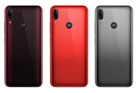 Motorola Moeo E6 Plus Versiones