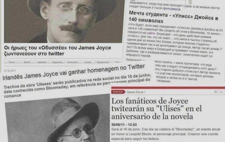 El 'Ulises' de Joyce en clave de twitter