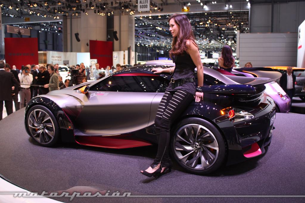Citroën Survolt y REVOLTe en el Salón de Ginebra 2010