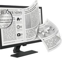 """El nuevo monitor BenQ GL2780 cuenta con un modo de """"e-book simulado"""" para hacer nuestra lectura más agradable"""