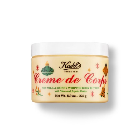 Kiehls Holiday 2020 Body Moisturizer Creme De Corps Soy Milk Honey Whipped Body Butter 226g 000 3605972415226 Front